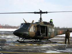 乗ったヘリコプター