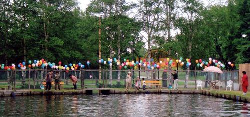 風船いっぱい