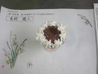 豆腐ココアプリンパフェ